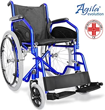 Agila aiesi revolution sedia a rotelle pieghevole