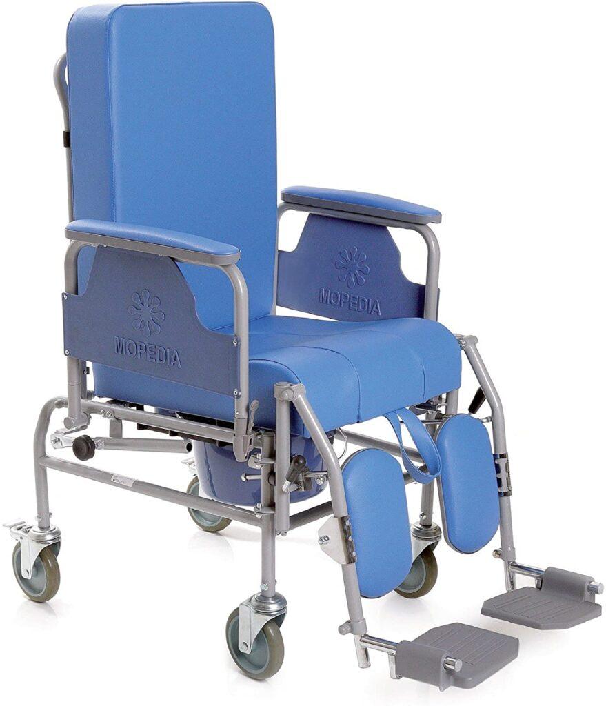 mopedia sedia a rotelle sedile reclinabile