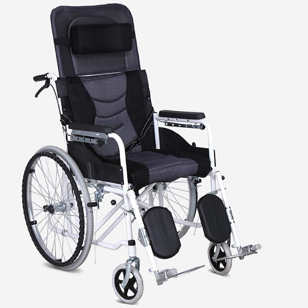 sedia a rotelle confortevole sedile reclinabile